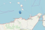 Terremoto ML 2.4 il 19-06-2019 ore 16:29:25  Isole Eolie (Messina)