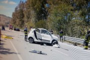 Incidente mortale sulla bretella Pietraperzia - Capodarso: un morto